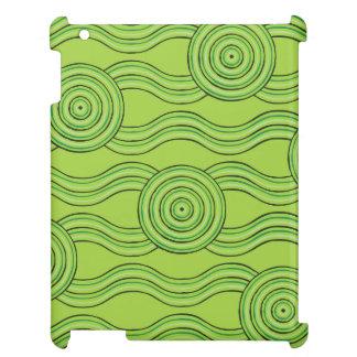 Aboriginal art rainforest iPad covers