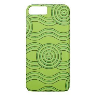 Aboriginal art rainforest iPhone 8 plus/7 plus case