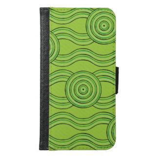 Aboriginal art rainforest samsung galaxy s6 wallet case