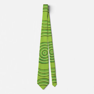 Aboriginal art rainforest tie