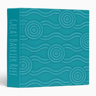 Aboriginal art reef binders