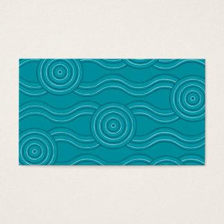 Aboriginal art reef business card