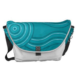 Aboriginal art reef courier bag