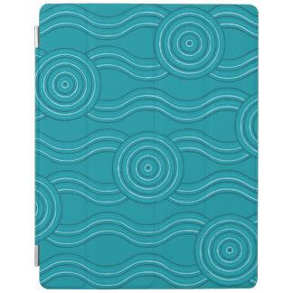 Aboriginal art reef iPad cover