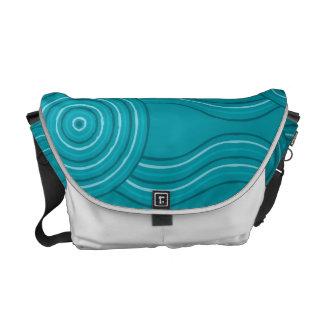 Aboriginal art reef messenger bag