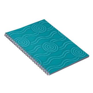 Aboriginal art reef notebooks