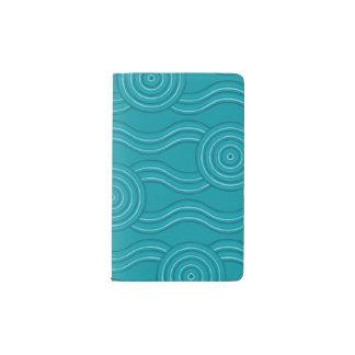 Aboriginal art reef pocket moleskine notebook