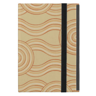 Aboriginal art sandstone cover for iPad mini