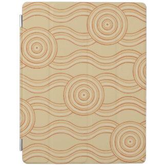 Aboriginal art sandstone iPad cover