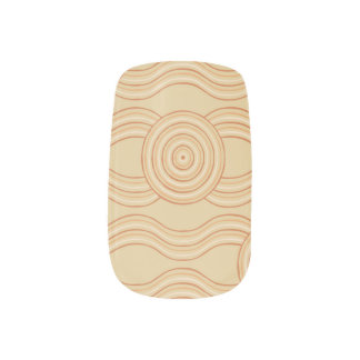 Aboriginal art sandstone minx nail art