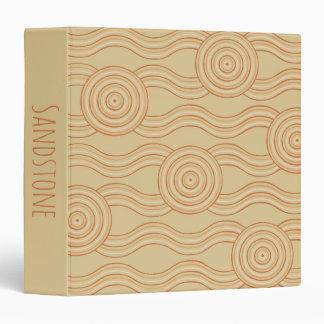 Aboriginal art sandstone vinyl binder