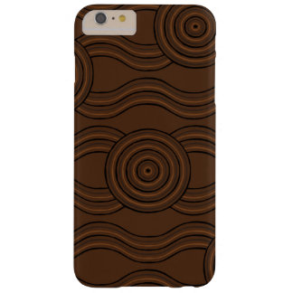 Aboriginal art soil barely there iPhone 6 plus case