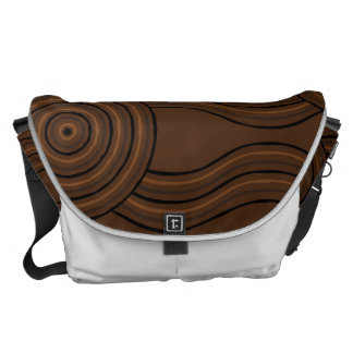 Aboriginal art soil commuter bag