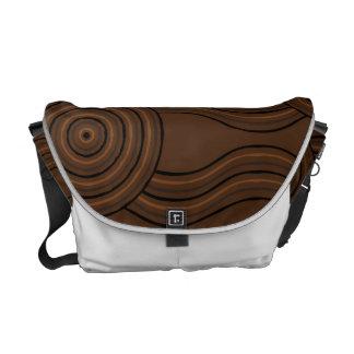 Aboriginal art soil commuter bags