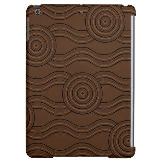 Aboriginal art soil cover for iPad air