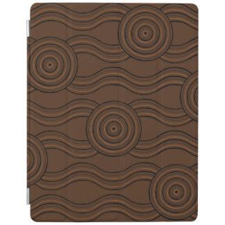 Aboriginal art soil iPad cover
