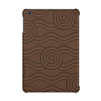 Aboriginal art soil iPad mini retina case