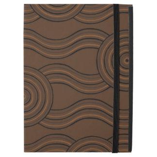"Aboriginal art soil iPad pro 12.9"" case"