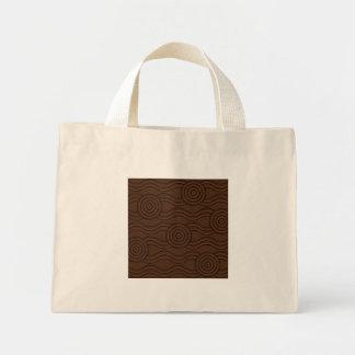 Aboriginal art soil mini tote bag
