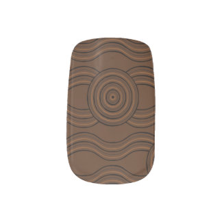 Aboriginal art soil minx nail art