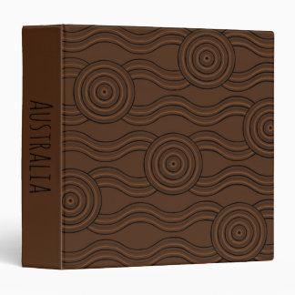 Aboriginal art soil vinyl binders