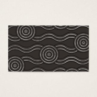Aboriginal art storm business card