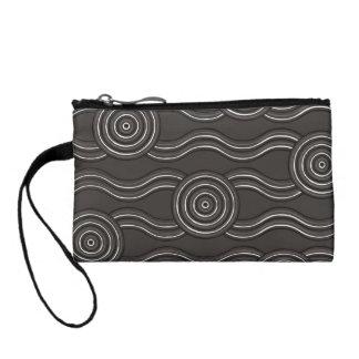 Aboriginal art storm coin purse