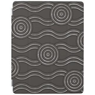 Aboriginal art storm iPad cover