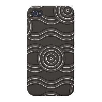 Aboriginal art storm iPhone 4/4S covers
