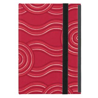 Aboriginal art waratah cover for iPad mini