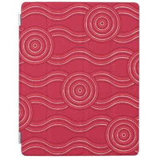 Aboriginal art waratah iPad cover