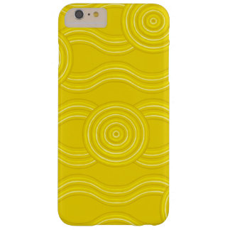 Aboriginal art wattle barely there iPhone 6 plus case