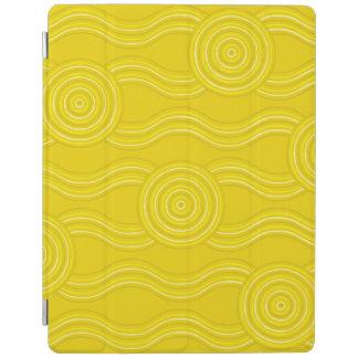 Aboriginal art wattle iPad cover