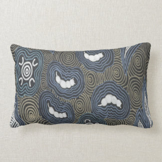 Aboriginal Art Witchetty Grubs Pillow Cushion