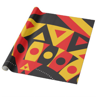 aboriginal australian culture people tribal art ge wrapping paper