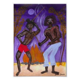 Aboriginal Dance Poster