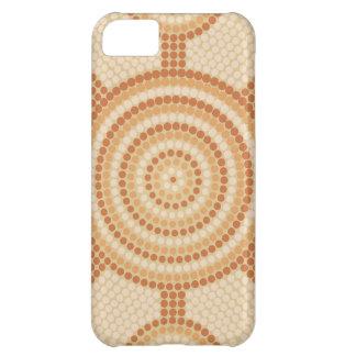 Aboriginal dot painting case for iPhone 5C