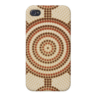Aboriginal dot painting case for the iPhone 4