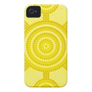 Aboriginal dot painting Case-Mate iPhone 4 case