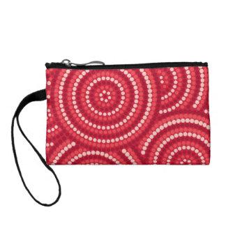 Aboriginal dot painting coin purses