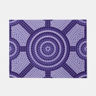 Aboriginal dot painting doormat