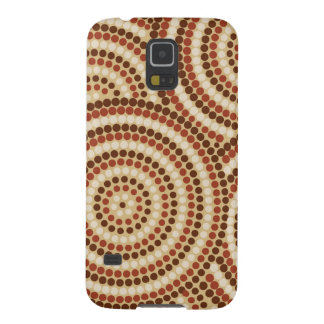 Aboriginal dot painting galaxy s5 cases