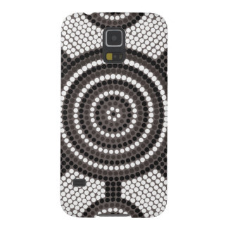 Aboriginal dot painting galaxy s5 cover
