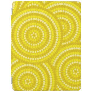 Aboriginal dot painting iPad cover