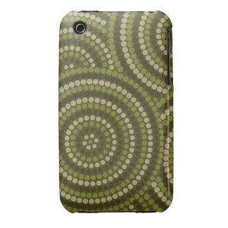 Aboriginal dot painting iPhone 3 Case-Mate case