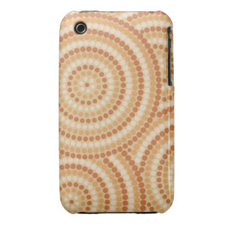 Aboriginal dot painting iPhone 3 cover