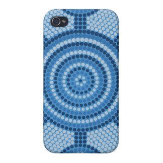 Aboriginal dot painting iPhone 4/4S case