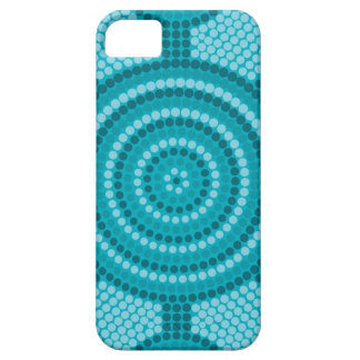 Aboriginal dot painting iPhone 5 cases