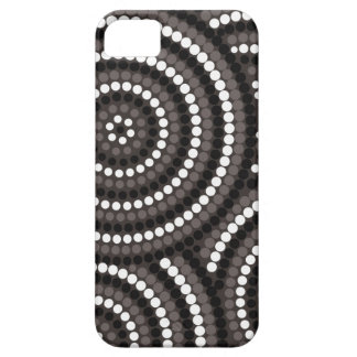 Aboriginal dot painting iPhone 5 cover