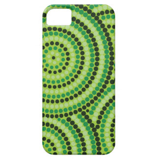 Aboriginal dot painting iPhone 5 covers